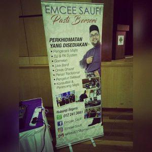 Emcee Saufi Roll-up Banting